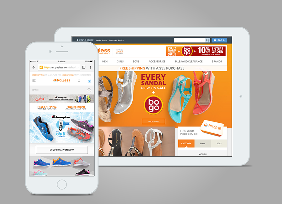Payless Re-design